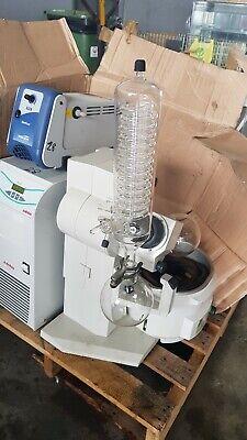 Buchi R-210 Rotavapor Heating Bath Vacuum Pump Julabo Chiller