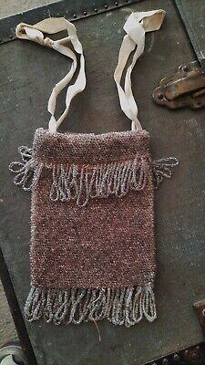 1930s Handbags and Purses Fashion vintage antique hand made glass bead evening wedding bag 11 cm's x 14 cm's $33.41 AT vintagedancer.com