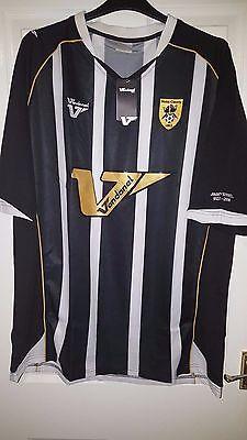 Mens Football Shirt & Shorts Kit - Notts County - Jimmy Sirrel 1922-2008 - BNWT image