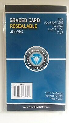 3 Pack of 100 CBG Thick Card Soft Penny Sleeves 2 Mil up to 70 point Jersey Card