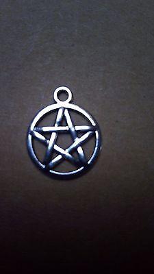 kl.Pentagramm,Esoterik, Magie, Gothik,Symbol der Elemente,Anhänger,Amulett,NEU