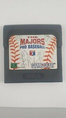Majors: Pro Baseball (Sega Game Gear, 1992)