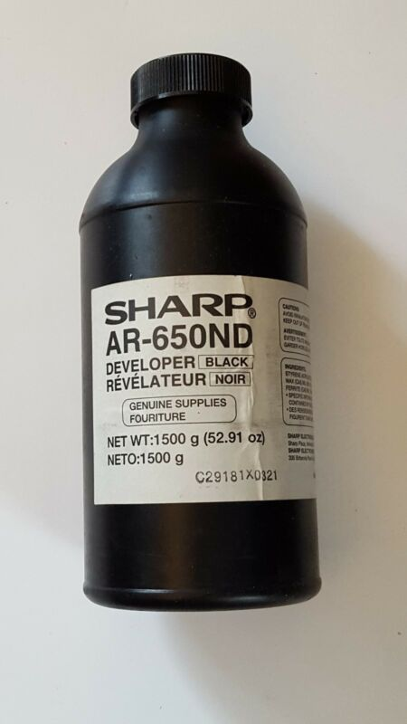 Genuine Sharp AR-650ND AR650ND Black Developer  New