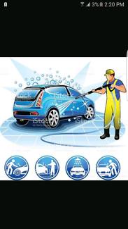 Car wasing service