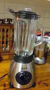 Glass jug blender with coffee grinder attachment Bendigo Bendigo City Preview