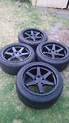 18' varostein wheels 5x114.3 staggered set w/tyres Norwood Norwood Area Preview