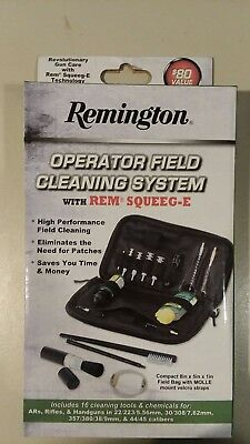 Remington Operator Field Cleaning System With REM Squeeg-E 16PC Shooting Bag (Remington Squeeg E Operator Field Cleaning System)