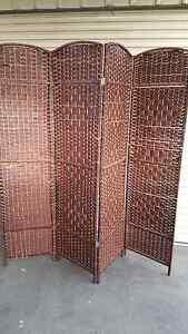 2 cane room divider screens Carrum Downs Frankston Area Preview