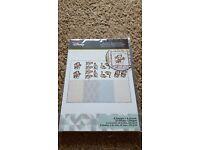 "Kraft Card White One Side 10 x 12/""x12/"" 350gsm Cardmaking Mounting Backing AM296"
