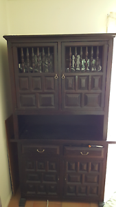 BEAUTIFUL TIMBER BUFFET HUTCH h 190cm w 115cm d 46cm Albany Creek Brisbane North East Preview