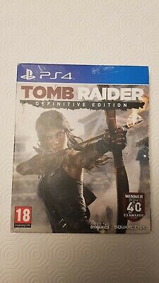 Used, PS4 TOMB RAIDER DEFINITIVE EDITION DIGI PACK for sale  Shipping to Nigeria