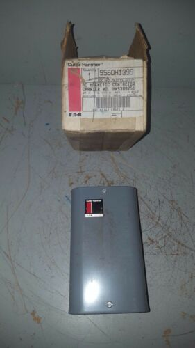 Cutler Hammer/Carrier Magnetic AC Contactor, Series A, 3P, 208-240V, 9560H1399