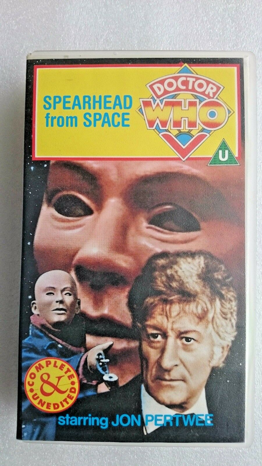Doctor Who - Spearhead From Space - Complete And Unedited (VHS, 1997)