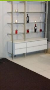 Display cabinet, shelving Mount Pleasant Melville Area Preview