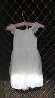 white girls flower girls dress