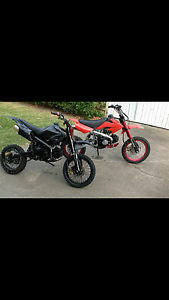 2 pit bikes up for swap Sandstone Point Caboolture Area Preview