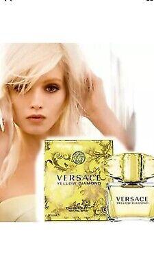 Versace Yellow Diamond .17 oz  Women's Eau de Toilette plus FREE PERFUME SAMPLE