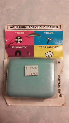 Mag Float Acrylic Large up to 5/8 inch glass aquariums non scratch