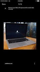 Looking for MacBook mac Air iMaciPad iCloud locked buy for parts