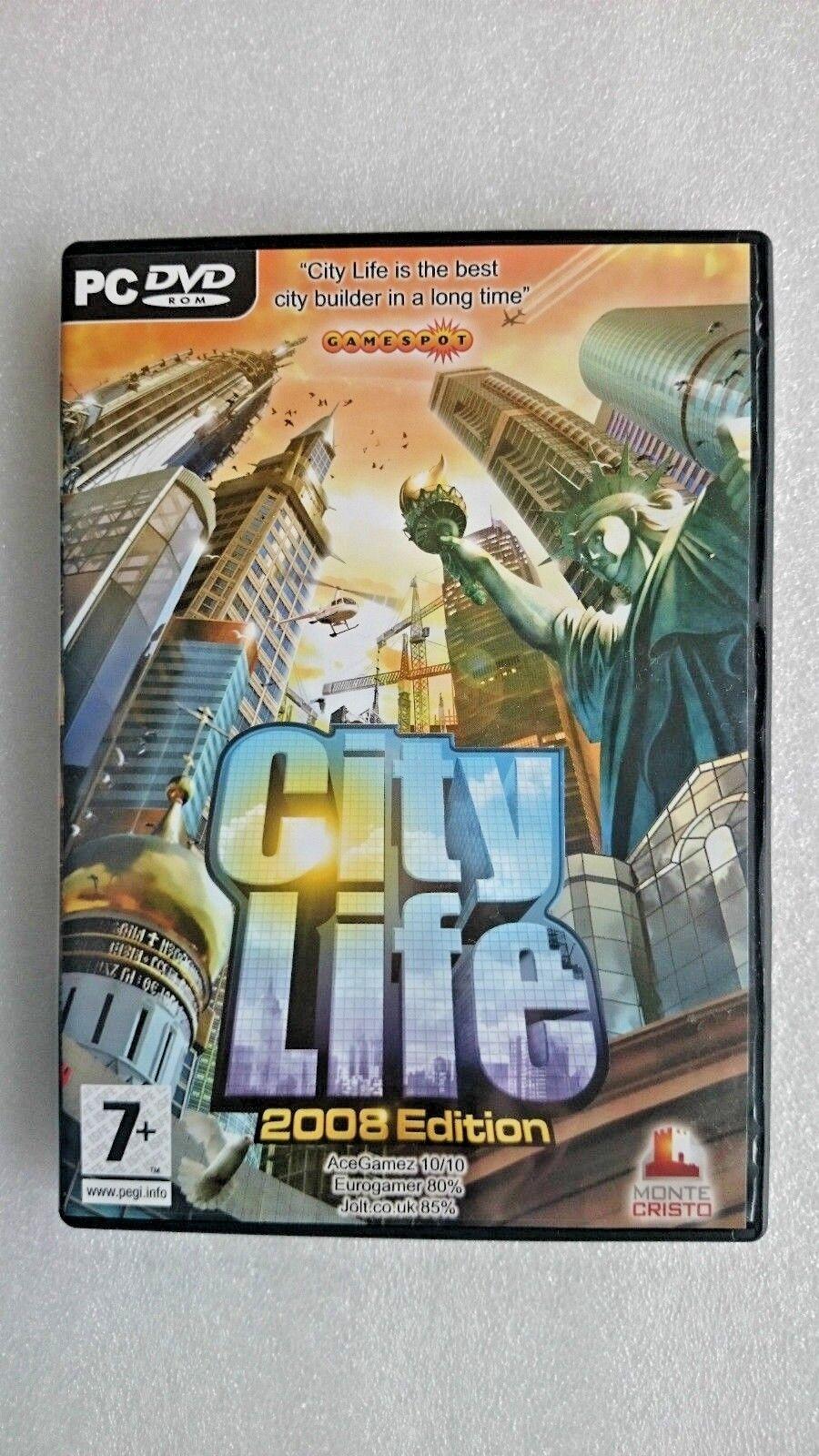 City Life 2008 (PC: Windows, 2008)