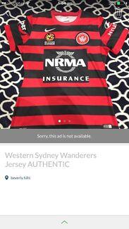 Western Sydney wanders jersey size s $30