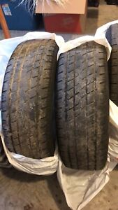2 All season Tires 225 65 17