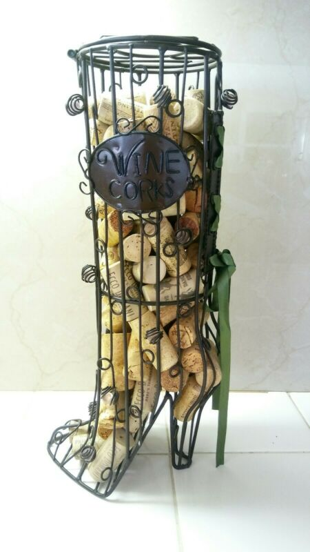Wine Corks Boot Decoration.. 14 X 5 66 pcs.