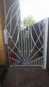 wrought iron gates x2 Georges Hall Bankstown Area Preview