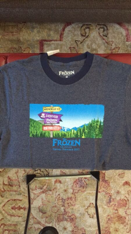 Brand new Frozen T-shirt Broadway from the Broadway Musical Mens M Short Sleeve