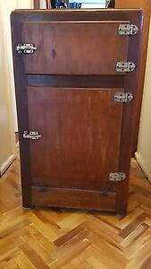 Antique wooden ice chest Ferntree Gully Knox Area Preview