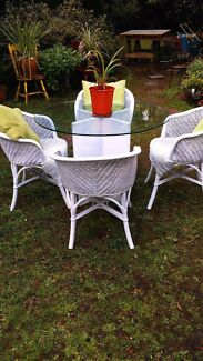 4 cane chairs for sale. All in good condition Ferntree Gully Knox Area Preview