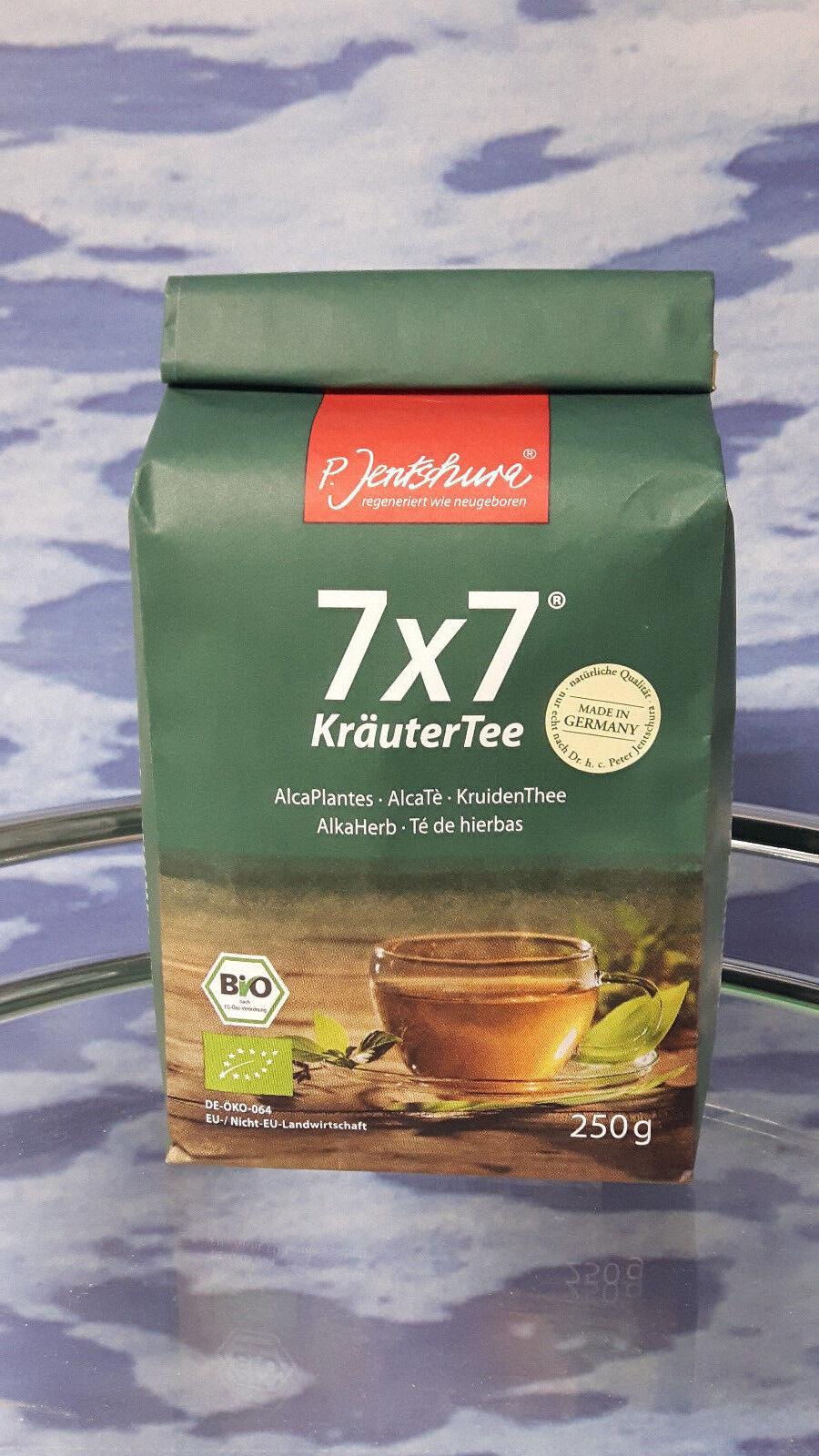 7x7 KräuterTee BIO von Jentschura  250g lose (8,70 EUR/100 g) + 3 Proben