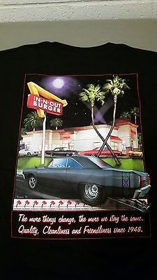 New In N Out Burger Mens The More Things Change T Shirt Size Xl