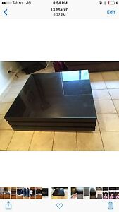 Dark wood coffee table and tv unit Galston Hornsby Area Preview