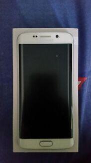 SAMSUNG GALAXY S6 EDGE 64GB WHITE COLOUR UNLOCKED  Bankstown Bankstown Area Preview