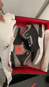 2018 Jordan 3 Black Cement