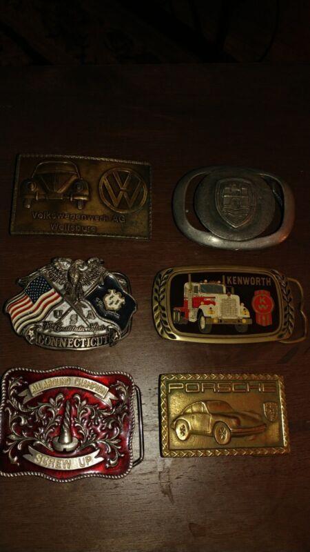 vintage belt buckles for men