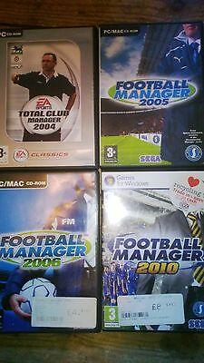 Football M,ger PC CD-ROM Seasons 2005-6-10 Total Club Job Lot