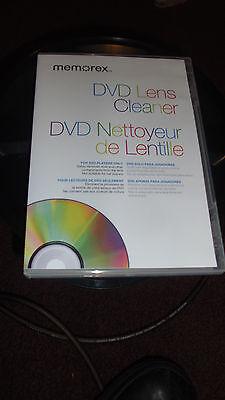 Memorex LASER LENS CLEANER FOR DVD Brand NEW Fast Shipping
