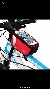 New 4 Colours waterproof TouchScreen Bicycle  bag frame