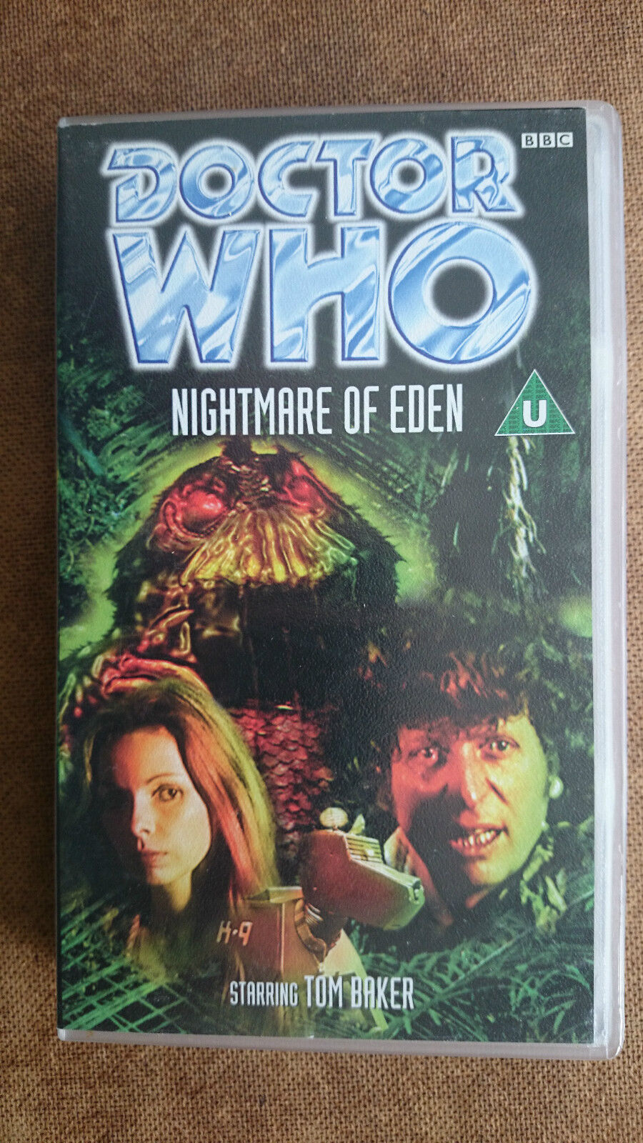 Doctor Who - Nightmare Of Eden (VHS, 1998) - Tom Baker