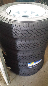 Brand new float /trailer wheels and tyres Manly West Brisbane South East Preview