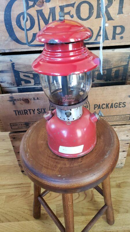 VTG 8/1964 Coleman Red Model 200 Lantern Camping (SEE DESCRIPTION)