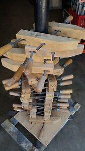 ONE Vintage Jorgensen 12 Wood Wooden Furniture Clamp