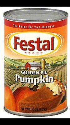 Festal Golden Pumpkin Pie Filling Best By Date Dec.