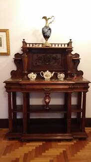 French Breakfront Servey with Rouge Marble Top Antiques Glen Iris Boroondara Area Preview