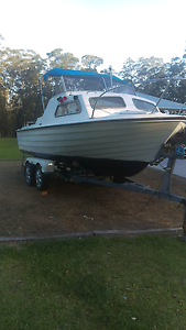 Boat with yamaha outboard Kempsey Kempsey Area Preview