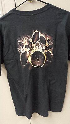 Bowling Flame Pins Black abstract Kids  T-Shirt  YOUTH MEDIUM NEW