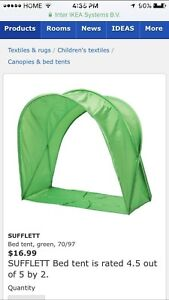 Kids bed tent like New!