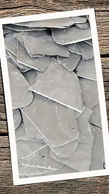 10 Stück Schieferplatten 16x10 cm Aquarien Terrarium Höhlen Garten Ziersplitt